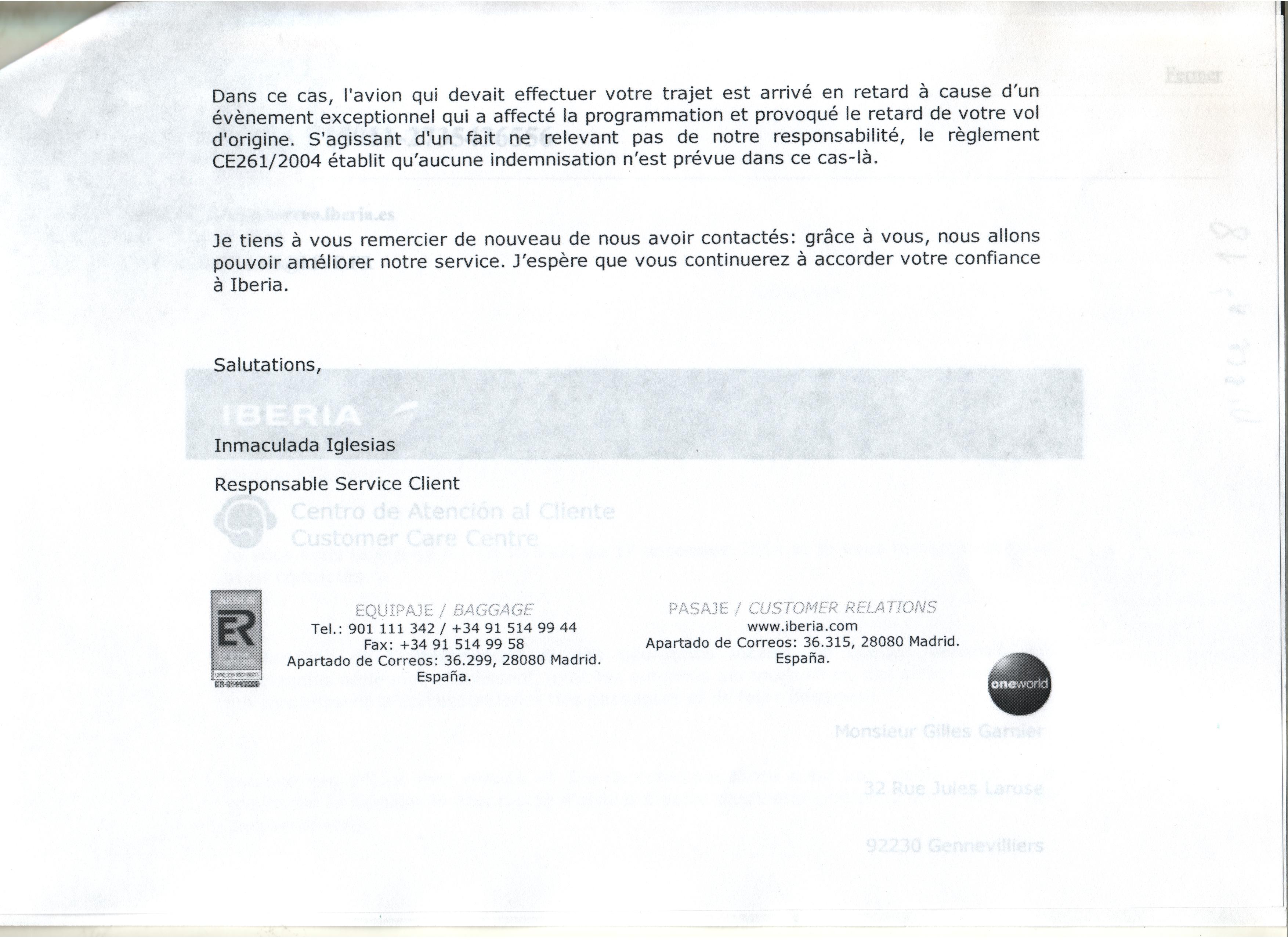 Retardimportantavion Procedure De A A Z De La Lettre Recommandee A